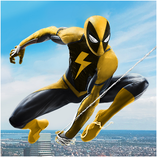 Flying Spider Rope Hero – Super Vice Town Crime APK MOD Monnaie Illimites Astuce