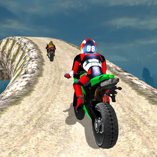 Hill Top Bike Racing APK MOD Pices de Monnaie Illimites Astuce