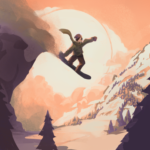Grand Mountain Adventure Snowboard Premiere APK MOD Pices de Monnaie Illimites Astuce