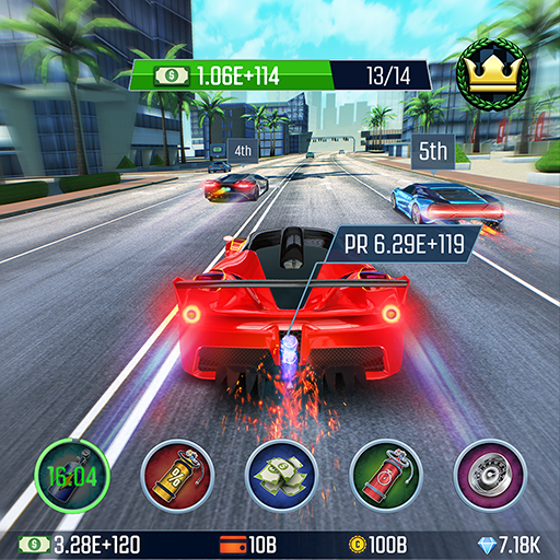 Idle Racing GO Clicker Tycoon Tap Race Manager APK MOD ressources Illimites Astuce