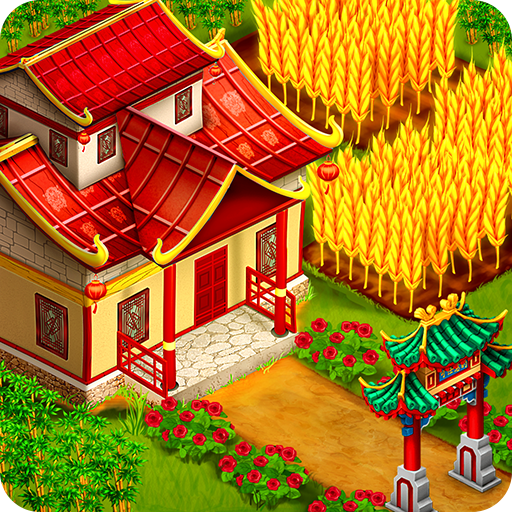 Asian Town Farm Offline Village Farming Game APK MOD Pices de Monnaie Illimites Astuce
