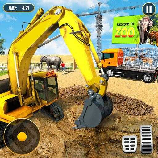 Simulateur De Construction De Zoo Animalier APK MOD ressources Illimites Astuce
