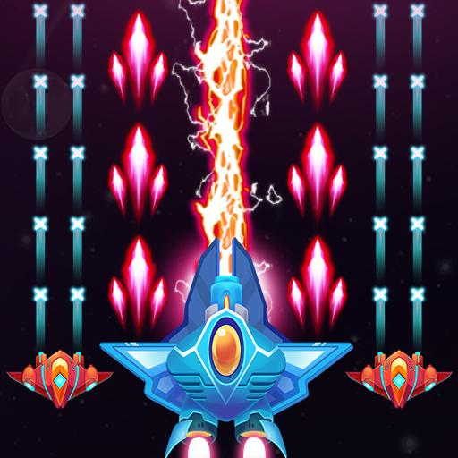 Galaxy Attack – Alien Shooter APK MOD Pices Illimites Astuce