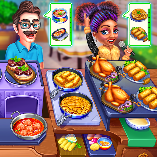 Cooking Express Food Fever Cooking Chef Games APK MOD ressources Illimites Astuce